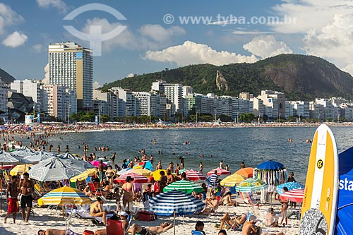 Vista da Praia de Copacabana  - Rio de Janeiro - Rio de Janeiro (RJ) - Brasil