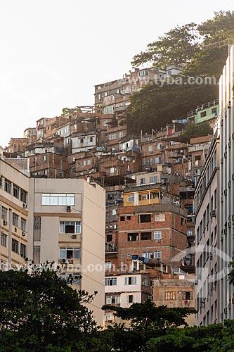Vista da Favela do Cantagalo  - Rio de Janeiro - Rio de Janeiro (RJ) - Brasil