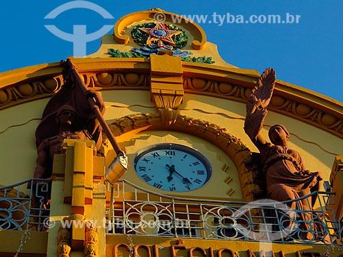 Fachada do Colégio Militar de Porto Alegre (1872)  - Porto Alegre - Rio Grande do Sul (RS) - Brasil