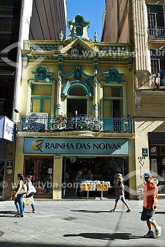 Loja na Rua da Praia - oficialmente Rua dos Andradas  - Porto Alegre - Rio Grande do Sul (RS) - Brasil