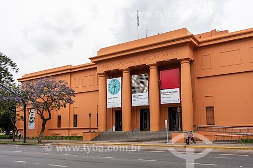Fachada do Museu Nacional de Belas Artes  - Buenos Aires - Província de Buenos Aires - Argentina