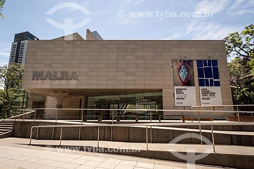 Fachada do Museu de Arte Latinoamericano de Buenos Aires (MALBA)  - Buenos Aires - Província de Buenos Aires - Argentina