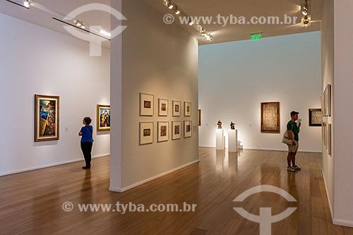 Interior do Museu de Arte Latinoamericano de Buenos Aires (MALBA)  - Buenos Aires - Província de Buenos Aires - Argentina