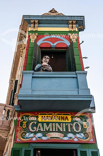 Fachada do Café Havanna em Caminito  - Buenos Aires - Província de Buenos Aires - Argentina