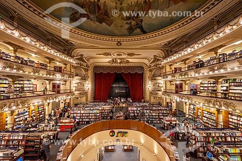 Interior da livraria Ateneo Grand Splendid  - Buenos Aires - Província de Buenos Aires - Argentina