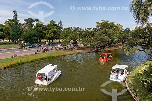 Pedalinhos no Parque Tres de Febrero, também conhecido como Bosques de Palermo  - Buenos Aires - Província de Buenos Aires - Argentina
