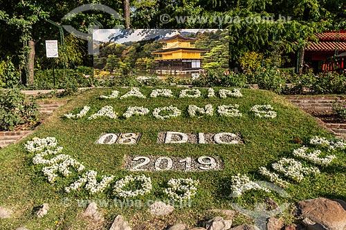 Jardim Japonês no Parque Tres de Febrero, também conhecido como Bosques de Palermo  - Buenos Aires - Província de Buenos Aires - Argentina