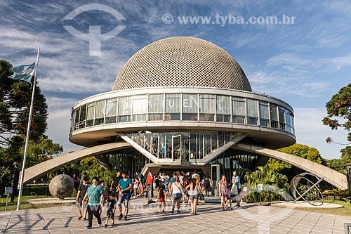 Planetário Galileo Galilei no Parque Tres de Febrero, também conhecido como Bosques de Palermo  - Buenos Aires - Província de Buenos Aires - Argentina