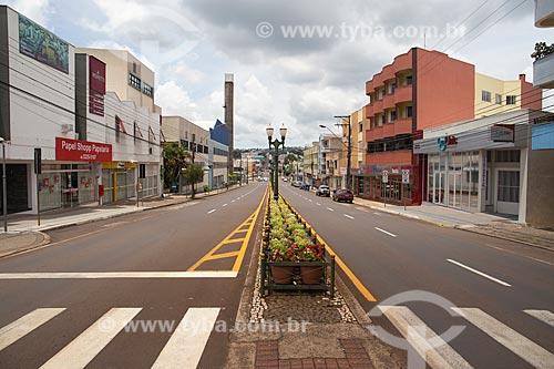 Vista da Avenida Tupi  - Pato Branco - Paraná (PR) - Brasil