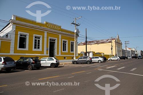Prédio da Prefeitura e Teatro Municipal  - Rosário do Sul - Rio Grande do Sul (RS) - Brasil