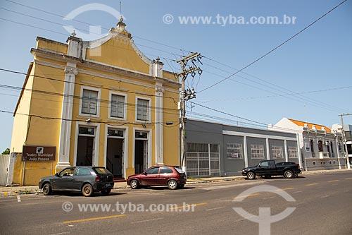 Theatro Municipal João Pessoa (1912)  - Rosário do Sul - Rio Grande do Sul (RS) - Brasil