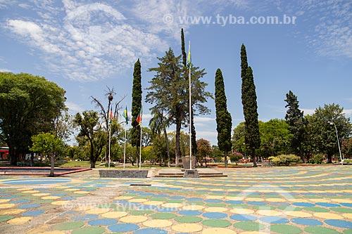Praça General Osório  - Quaraí - Rio Grande do Sul (RS) - Brasil