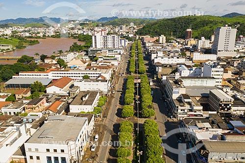 Vista do Centro de Itaperuna  - Itaperuna - Rio de Janeiro (RJ) - Brasil