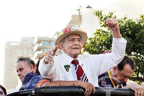 José Ruy Dutra - fundador e presidente do bloco de carnaval de rua Banda de Ipanema  - Rio de Janeiro - Rio de Janeiro (RJ) - Brasil