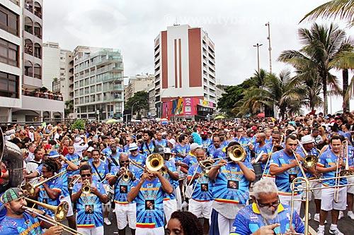 Desfile do Bloco de carnaval de rua Banda de Ipanema  - Rio de Janeiro - Rio de Janeiro (RJ) - Brasil