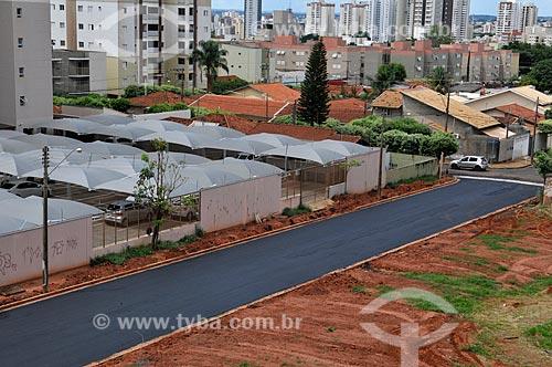 Rua com pavimentação finalizada  - São José do Rio Preto - São Paulo (SP) - Brasil