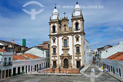 Igreja de São Pedro dos Clérigos (1782) - Pátio de São Pedro  - Recife - Pernambuco (PE) - Brasil
