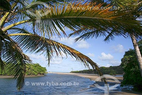 Foz do Rio Camaratuba  - Mataraca - Paraíba (PB) - Brasil