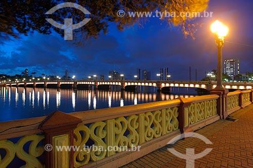 Ponte Buarque de Macedo (1882)  - Recife - Pernambuco (PE) - Brasil