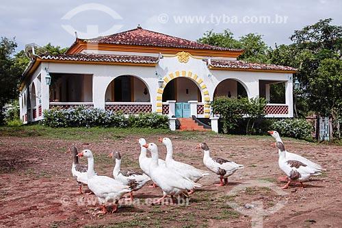 Casa Grande do Engenho Santa Fé - Atualmente abriga um hotel  - Nazaré da Mata - Pernambuco (PE) - Brasil
