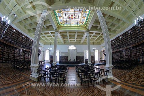 Interior do Gabinete Português de Leitura de Pernambuco  - Recife - Pernambuco (PE) - Brasil