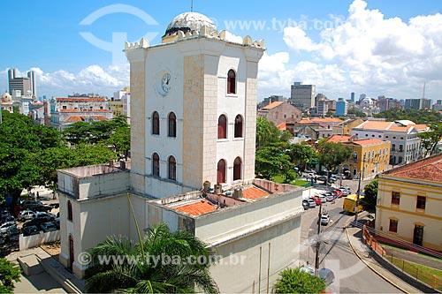 Torre Malakoff (1855) - antigo Portão Monumental e Observatório  - Recife - Pernambuco (PE) - Brasil