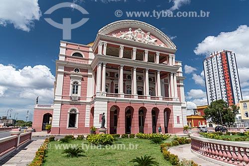 Fachada do Teatro Amazonas (1896)  - Manaus - Amazonas (AM) - Brasil