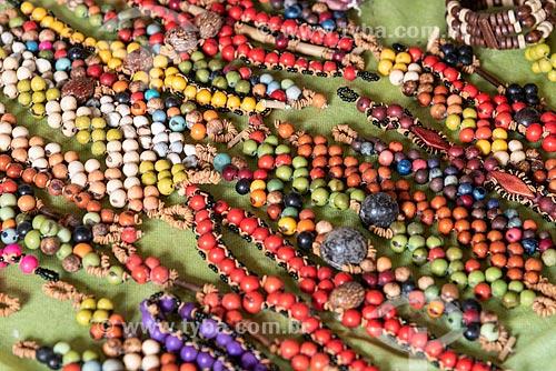 Colares feitos com sementes da floresta amazônica  - Amazonas (AM)