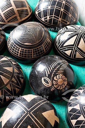Artesanato em madeira típico da Amazônia  - Amazonas (AM)