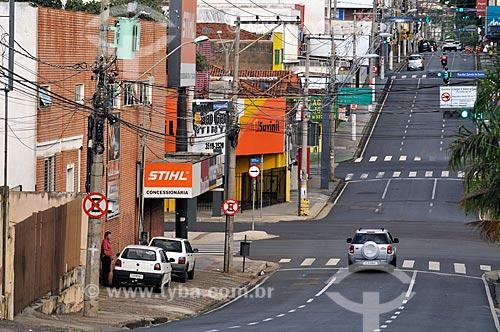 Rua Prudente de Moraes com o comércio fechado por causa da Crise do Coronavírus  - São José do Rio Preto - São Paulo (SP) - Brasil