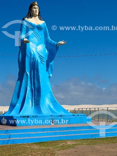 Estátua de Iemanjá  - Cidreira - Rio Grande do Sul (RS) - Brasil