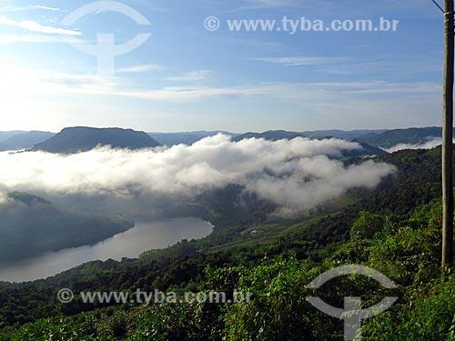 Vale do Rio das Antas ao amanhecer  - Cotiporã - Rio Grande do Sul (RS) - Brasil