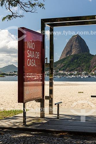 Equipamento de ginástica sem uso na Praia de Botafogo devido à Crise do Coronavírus  - Rio de Janeiro - Rio de Janeiro (RJ) - Brasil