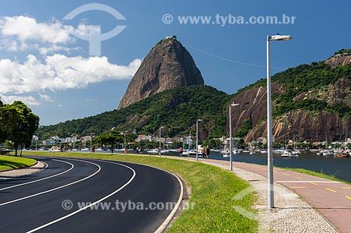 Aterro do Flamengo sem carros devido à Crise do Coronavírus  - Rio de Janeiro - Rio de Janeiro (RJ) - Brasil