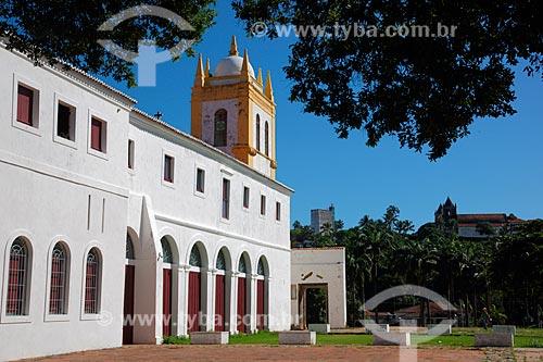 Convento e Igreja de Nossa Senhora do Carmo - também conhecida como Convento e Igreja de Santo Antônio do Carmo (século XVI) com as ruínas do antigo mosteiro  - Olinda - Pernambuco (PE) - Brasil