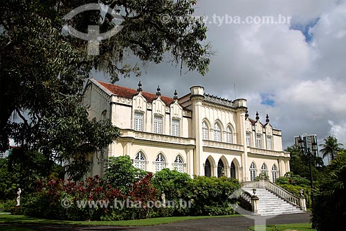 Mansão Henry Gibson (1847)  - Recife - Pernambuco (PE) - Brasil