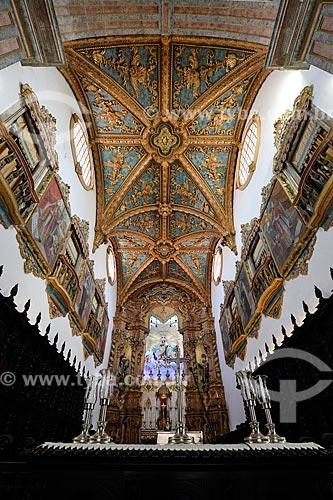 Interior da Basílica de Nossa Senhora do Carmo (1767)  - Recife - Pernambuco (PE) - Brasil