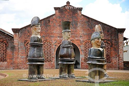 Oficina de cerâmica e galeria a céu aberto do artista plástico Francisco Brennand  - Recife - Pernambuco (PE) - Brasil