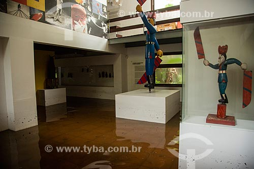 Museu Casa do Pontal alagado devido à fortes chuvas  - Rio de Janeiro - Rio de Janeiro (RJ) - Brasil