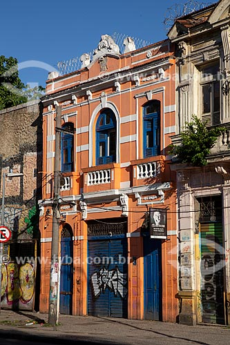 Fachada do Teatro do Oprimido  - Rio de Janeiro - Rio de Janeiro (RJ) - Brasil