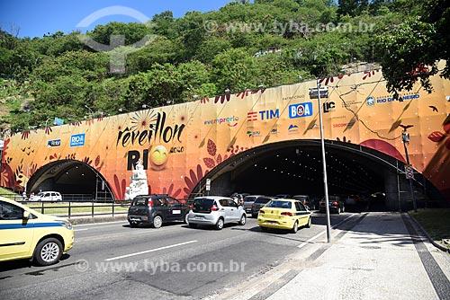 Tráfego de caros no Túnel Novo durante o reveillon  - Rio de Janeiro - Rio de Janeiro (RJ) - Brasil