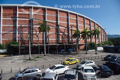 Vista da fachada do Centro Luiz Gonzaga de Tradições Nordestinas  - Rio de Janeiro - Rio de Janeiro (RJ) - Brasil