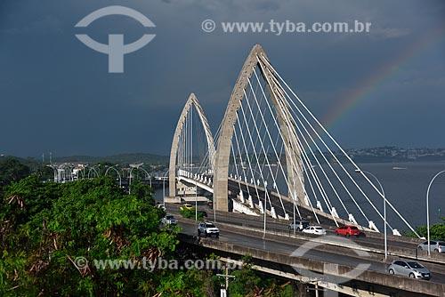 Vista da Ponte Prefeito Pereira Passos (2014)  - Rio de Janeiro - Rio de Janeiro (RJ) - Brasil