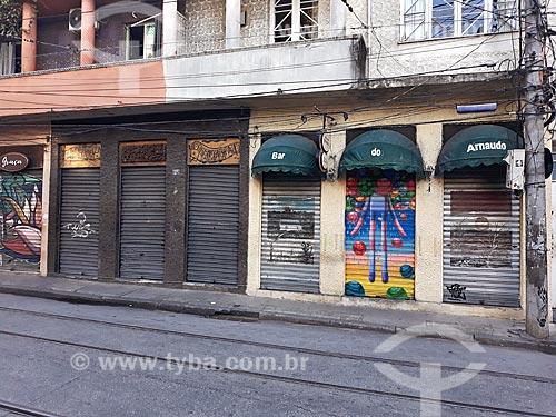 Bar do Arnaldo, restaurante tradicional, fechado devido a crise do Coronavírus  - Rio de Janeiro - Rio de Janeiro (RJ) - Brasil