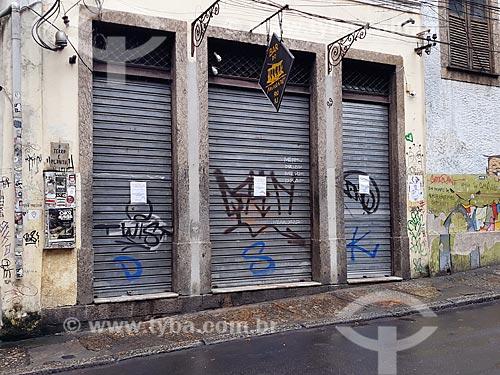 Bar do Mineiro, restaurante tradicional, fechado devido a crise do Coronavírus  - Rio de Janeiro - Rio de Janeiro (RJ) - Brasil