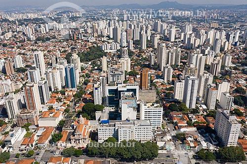 Foto feita com drone do Hospital São Camilo e Paróquia Nossa Senhora do Rosário de Pompéia  - São Paulo - São Paulo (SP) - Brasil