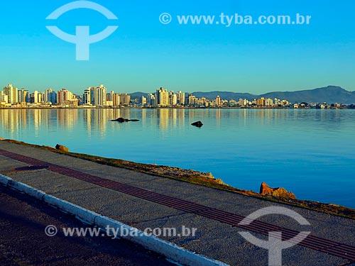 Amanhecer na Beira Mar Norte  - Florianópolis - Santa Catarina (SC) - Brasil