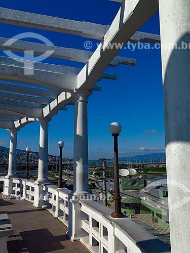 Mirante da Ponte Hercílio Luz  - Florianópolis - Santa Catarina (SC) - Brasil
