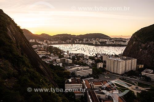 Urca Vista do Morro da Babilônia  - Rio de Janeiro - Rio de Janeiro (RJ) - Brasil