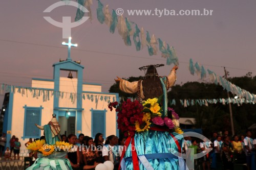 Festa de Santa Maria na vila de Canumã - Borba - Amazonas (AM) - Brasil